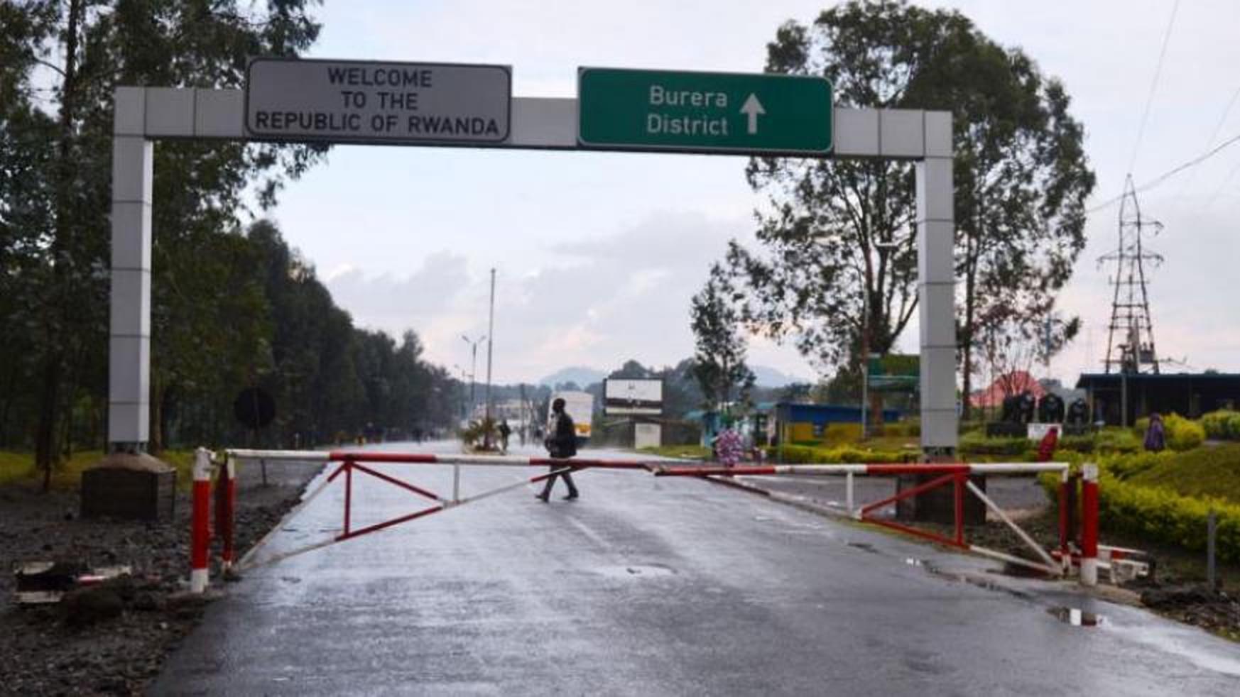 Uganda-Rwanda Border, Kisoro district